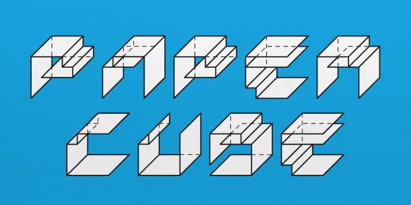 Paper Cube by Pisto Casero
