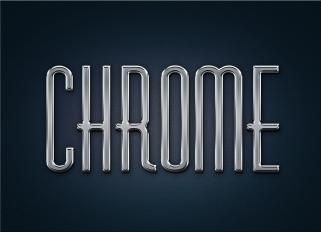 free-metal-chrome-layer-style