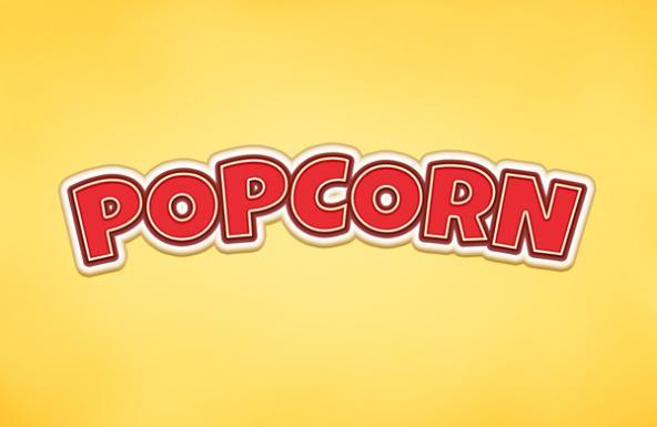 popcorn-text-effect