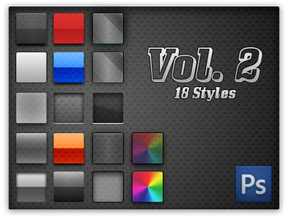 750+ free photoshop layer styles | inspirationfeed
