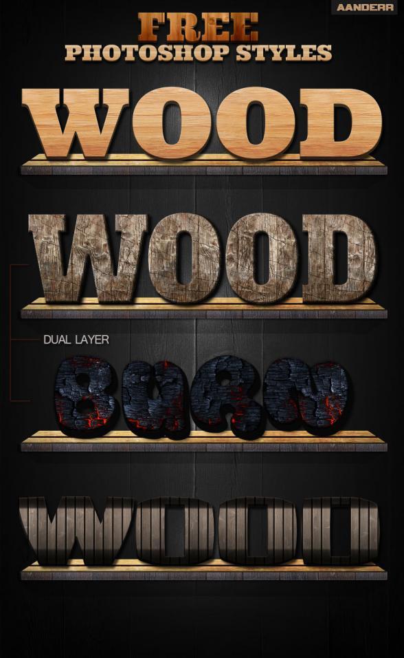 photoshop-wood-styles