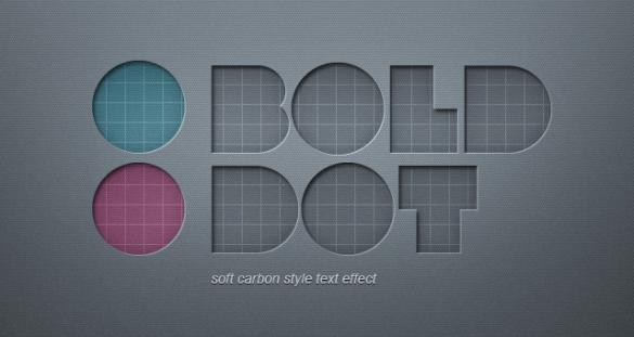 psd-soft-carbon-text-effect