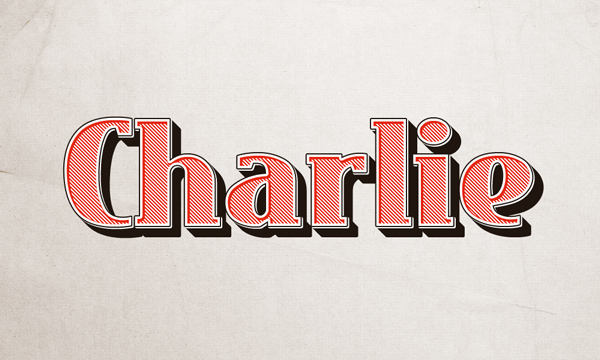 charlie-text-effect
