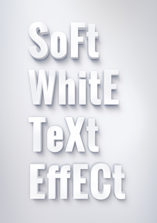 soft-white-text-effect