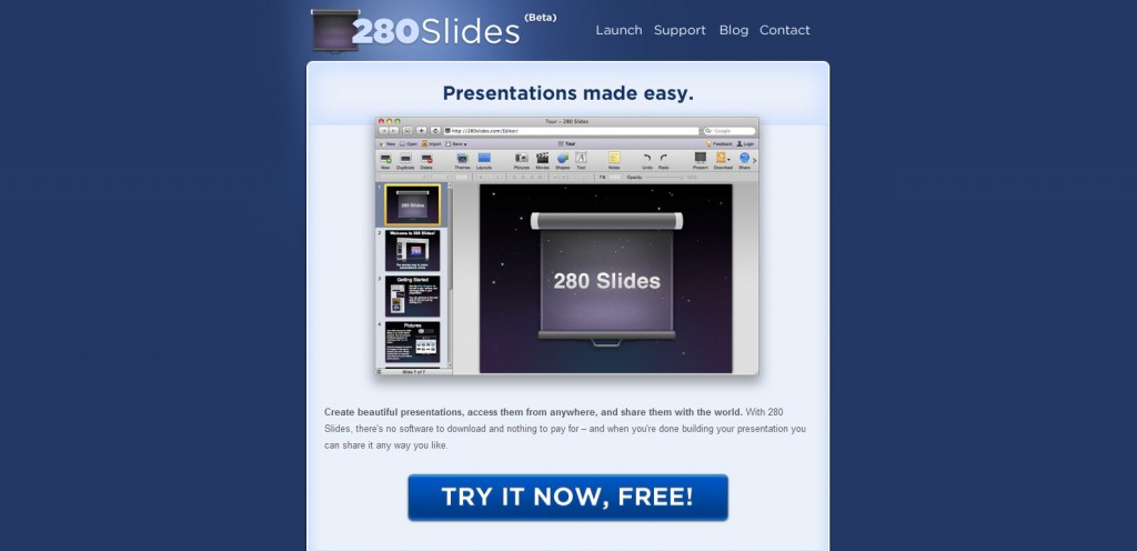 280slides 1024x496 35 Stunningly Elegant Web Designs