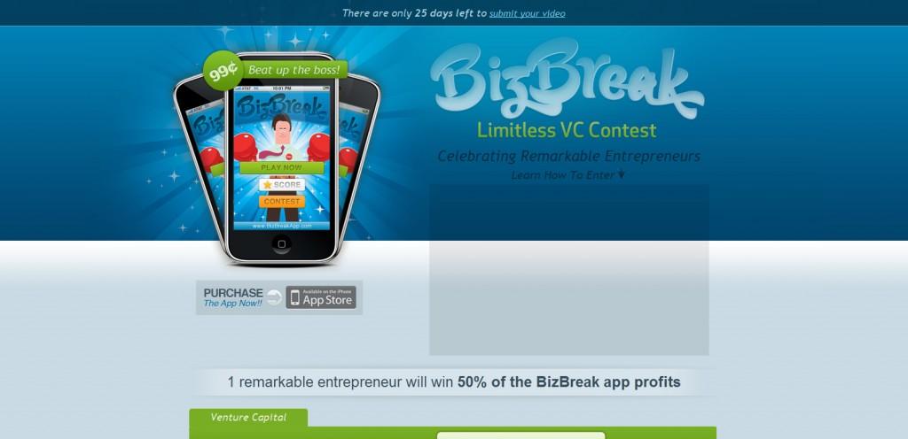 bizbreakapp 1024x496 35 Stunningly Elegant Web Designs