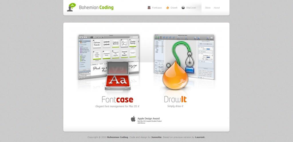 bohemiancoding 1024x496 35 Stunningly Elegant Web Designs