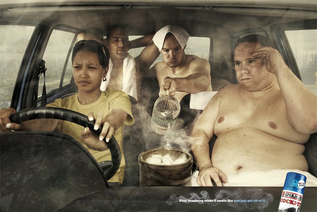 spanjaardsweat 51 Examples of Funny & Creative Advertising