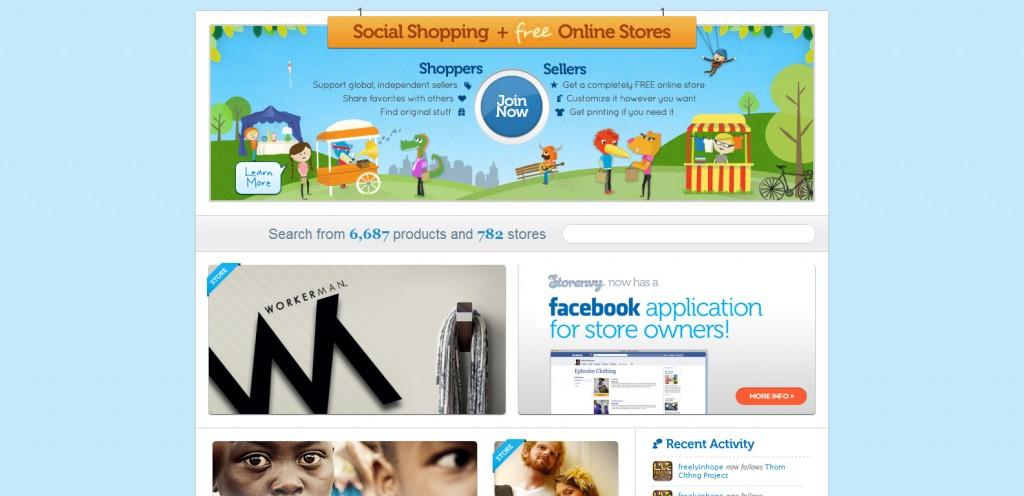 storenvy 1024x496 35 Stunningly Elegant Web Designs