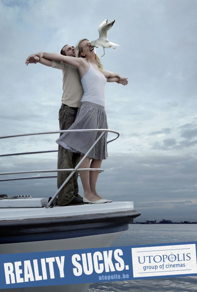utopolis titanic rgb 690x1024 51 Examples of Funny & Creative Advertising