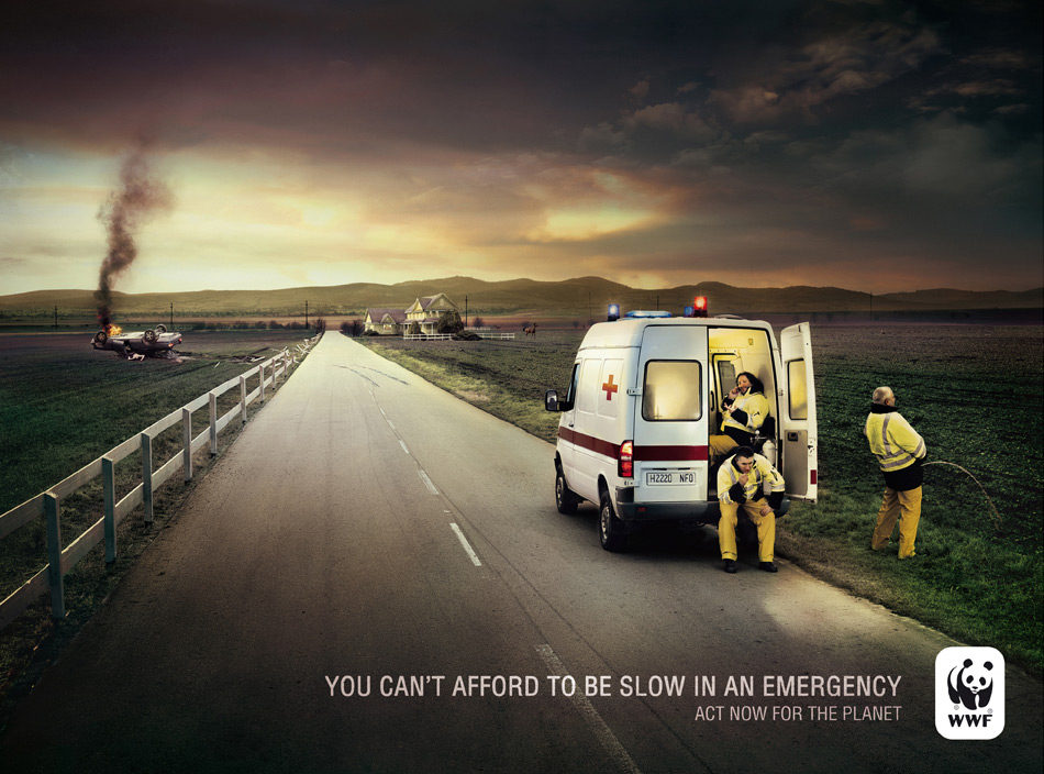 wwf ambulance 1 51 Examples of Funny & Creative Advertising