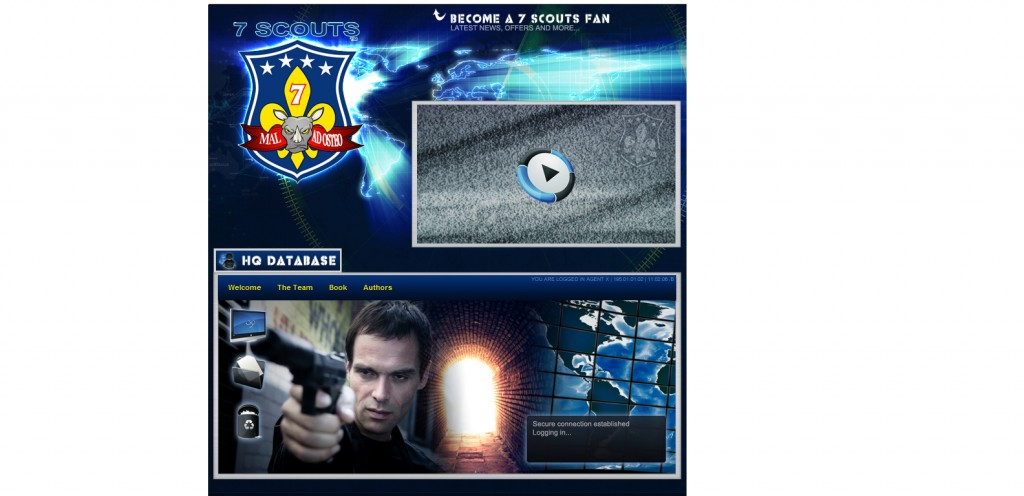 7scouts 1024x496 40 Great Examples of Facebook Fan Page Designs