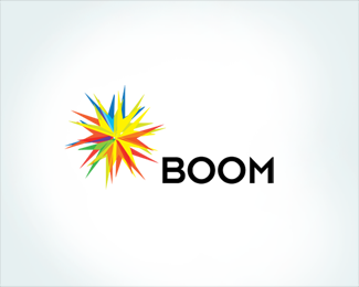 Boom 45 Mind Blowing Colorful Logo Designs