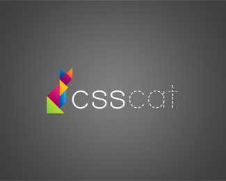 CSSCAT 45 Mind Blowing Colorful Logo Designs