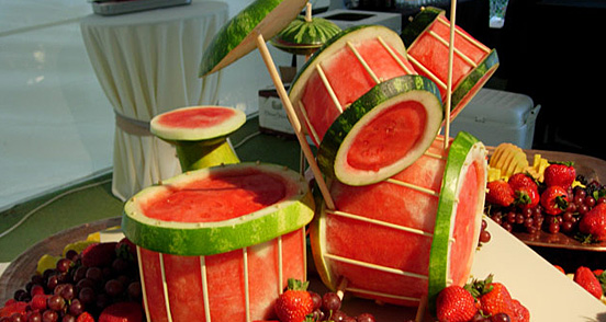 Drum Watermelon l 60 Visionary Examples of Creative Photography