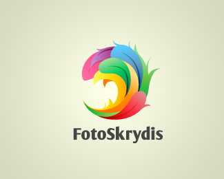 Foto Skrydis 45 Mind Blowing Colorful Logo Designs