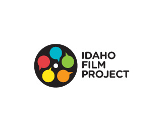 Idaho Film Project 45 Mind Blowing Colorful Logo Designs
