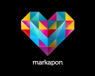 Markapon1 45 Mind Blowing Colorful Logo Designs