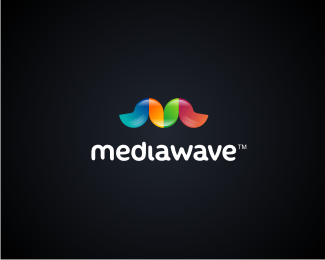 Mediawave 45 Mind Blowing Colorful Logo Designs