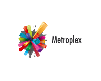 Metroplex 45 Mind Blowing Colorful Logo Designs