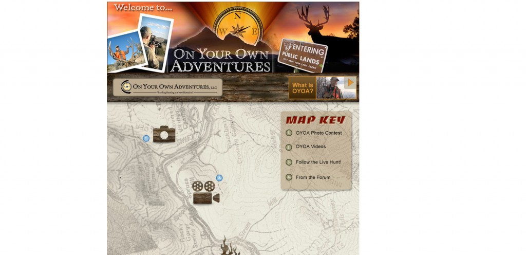 On Your Own Adventures 1024x496 40 Great Examples of Facebook Fan Page Designs