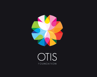 Otis 45 Mind Blowing Colorful Logo Designs