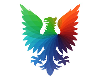 PHOENIX PRINTING 45 Mind Blowing Colorful Logo Designs