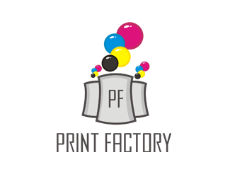 Print Factory 45 Mind Blowing Colorful Logo Designs