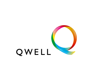 Qwell 45 Mind Blowing Colorful Logo Designs