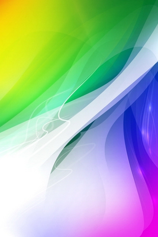 Rainbow 50 Astonishing Abstract iPhone Wallpapers