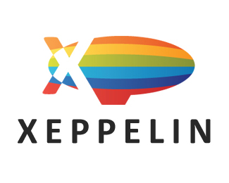 Xeppelin 45 Mind Blowing Colorful Logo Designs