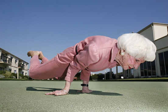 Yoga Grandma l 60 Visionary Examples of Creative Photography