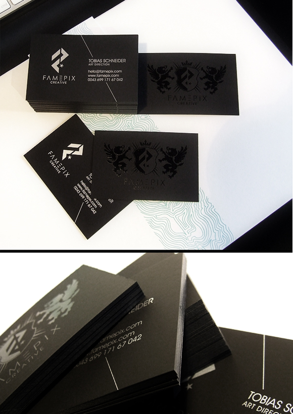 bc 2 100 Refreshing Black & White Business Cards