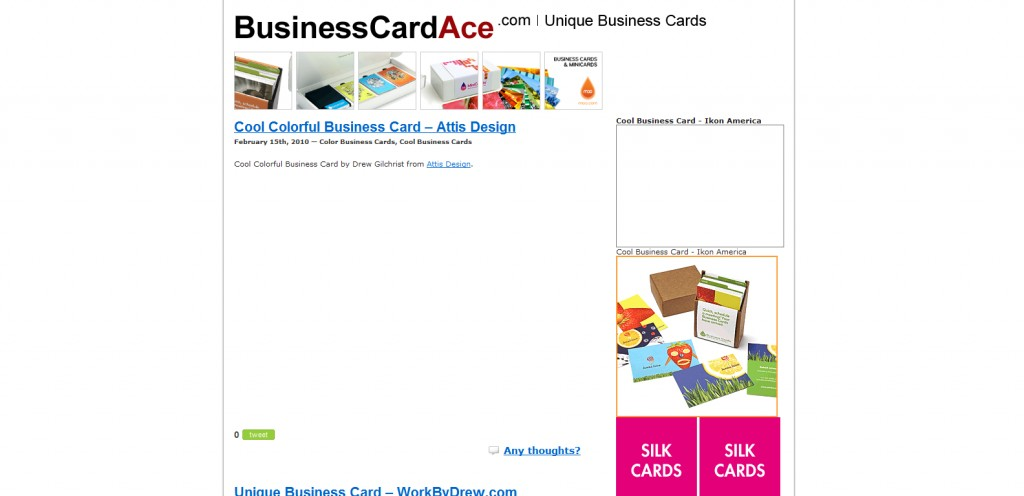 businesscardace 1024x496 Top 8 Websites for Business Card Inspiration