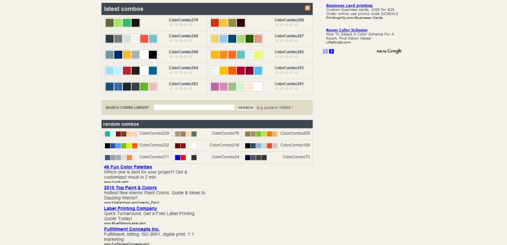 colorcombos 1024x496 Top 22 Helpful Color Tools for Designers