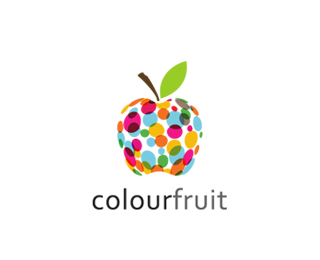 colourfruit 45 Mind Blowing Colorful Logo Designs