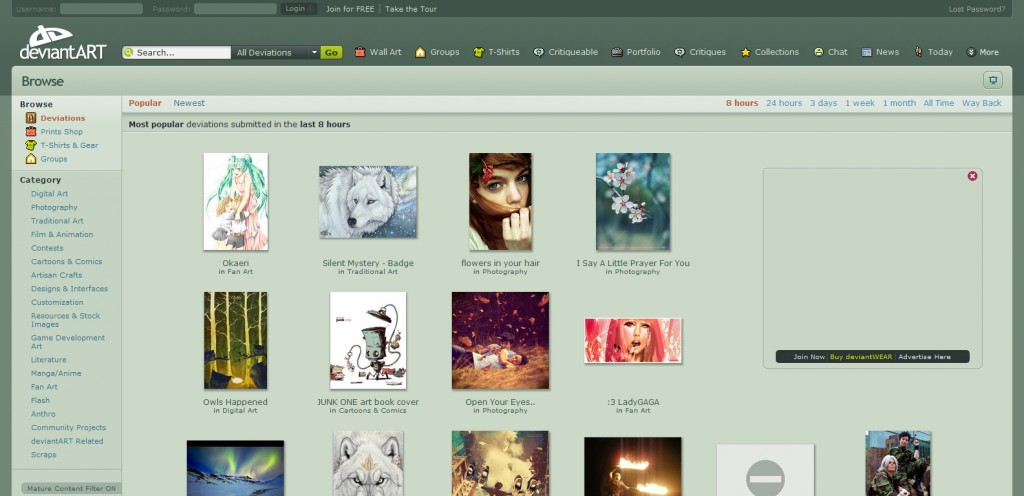 deviantart 1024x496 Top 8 Websites for Business Card Inspiration