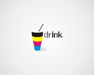 drINK 45 Mind Blowing Colorful Logo Designs