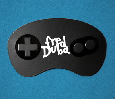 fred duba 100 Refreshing Black & White Business Cards