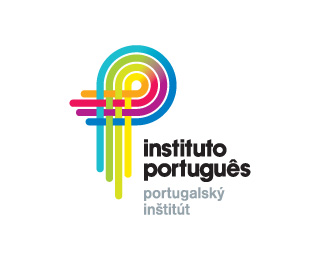 instituto portugues 45 Mind Blowing Colorful Logo Designs