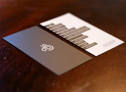 Custom Card Template design a business card : 100 Refreshing Black u0026 White Business Cards : Inspirationfeed