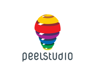 peelstudio 45 Mind Blowing Colorful Logo Designs