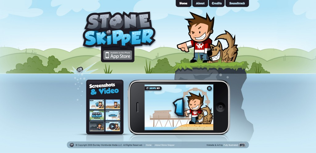 stoneskipper 1024x496 100 Wonderfully Designed iPhone App Websites