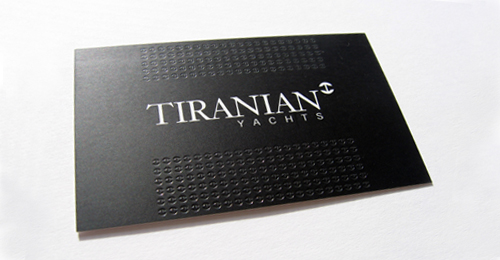 visi tiranian podaen 100 Refreshing Black & White Business Cards