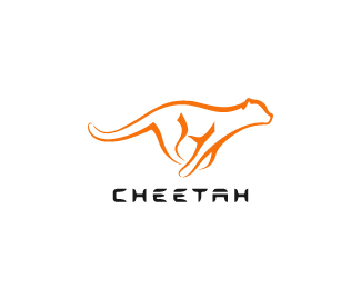 Cheetah 70 Beautiful Animal Logo Designs