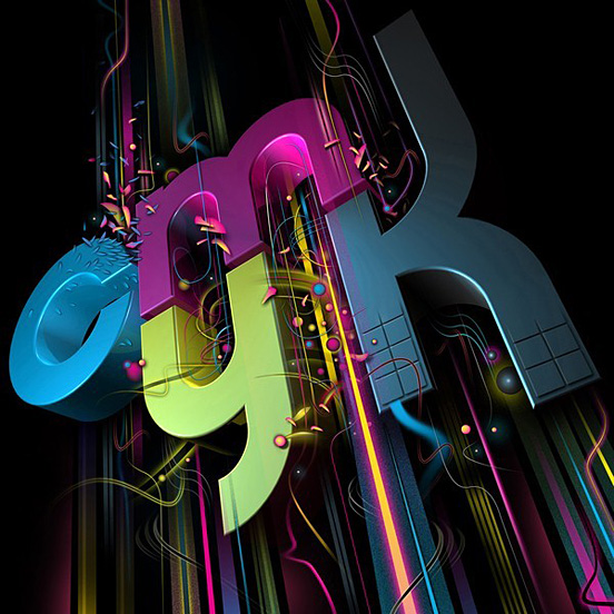 Cmyk 50 Remarkable Examples of Typography Design