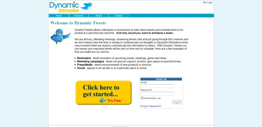 DynamicTweets 1024x496 18 Tools for Scheduling Future Tweets