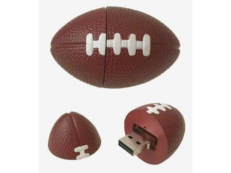 Football usb 55 Creative Examples of USB Designs