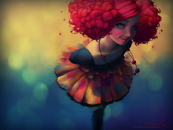 Girl 55 Captivating Examples of Illustration Art