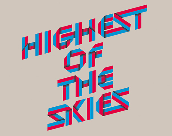 Hghest of The Skies 50 Remarkable Examples of Typography Design
